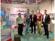 竞博电竞下载公司2017年5月份参加迪拜铝工业展